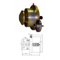 Клапан термозапорный КТЗ 001 межфланцевое соединение