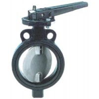 Затворы поворотные дисковые ВА 99001 сталь/сталь нж. Ру10 Ду40...1200