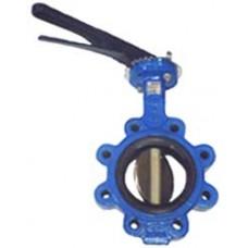 Затворы поворотные дисковые FAF-3600 (тип LUG) чугун/нерж Ру16 Ду40...250